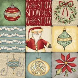 Christmas Whimsy - Patchwork