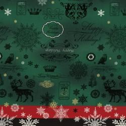 Happy Holidays - Green