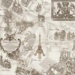 Paris - Cream Toile