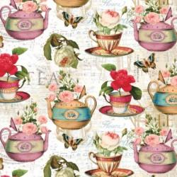 Teapot Flora