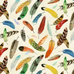 Bird Watching - Feathers Cream