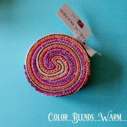 "Color Blends Warm - Strips 2.5"" Jelly Roll"
