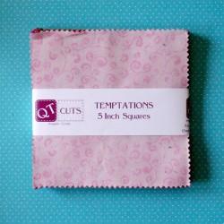 "Temptations - 5"" Squares"