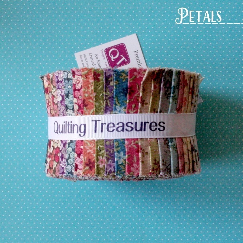 """Petals - Strips 2.5"""" Jelly Roll"""