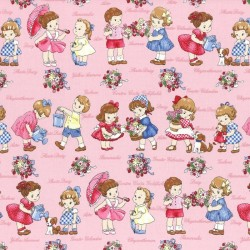 Old New 30's - Children Pink