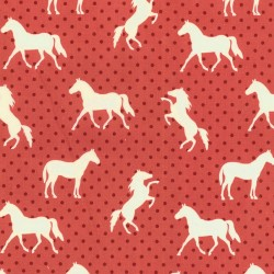 Equestrian - Pony Up Red