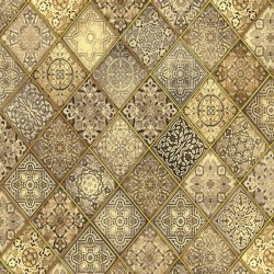 Heavenly - Diagonal Filigree Tan
