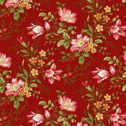 Savannah Garden - Red Floral