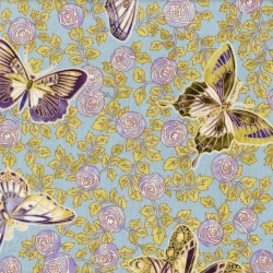 Jewel Floral Butterflies