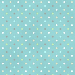Guess How Much I Love You - Teal Dots
