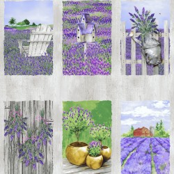 Lovely Lavender - Panel
