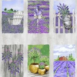 Lovely Lavender - Panel