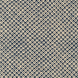 Sevenberry Kasuri - Navy Dots