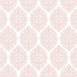 All For Love - Medallion Trellis Pink
