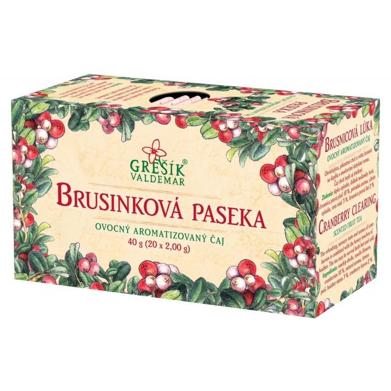 Čaj Brusinková Paseka