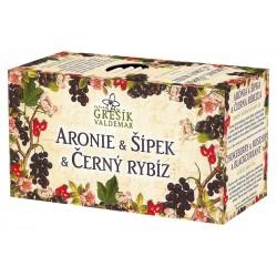 Čaj Aronie & Šípek & Černý rybíz