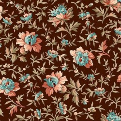 Bethel - Packed Floral Brown