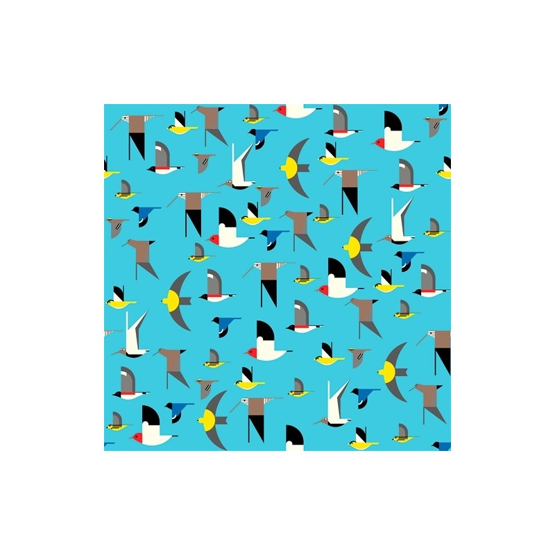 Maritime - Birds Multi Knit (40 cm)