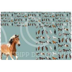 Panel Horse