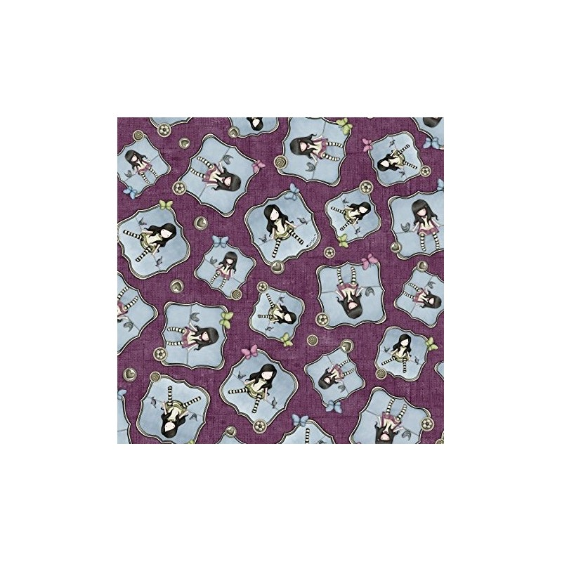 Santoro - Girls Plum (15 cm)