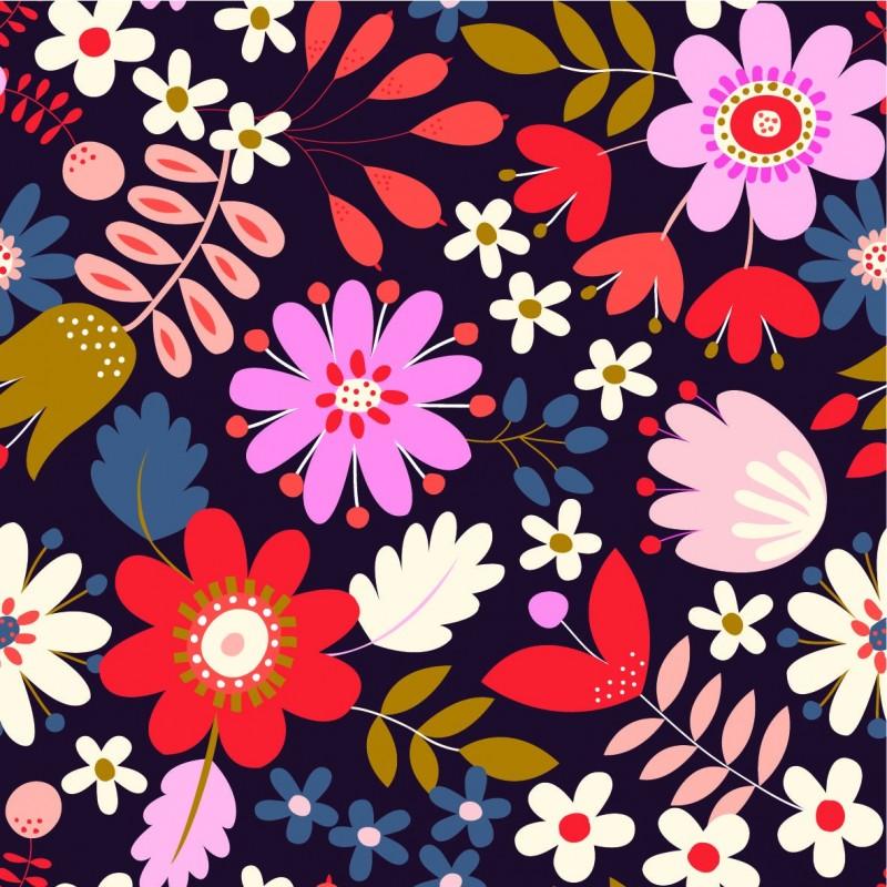 Fabulous Corduroy - Flowers
