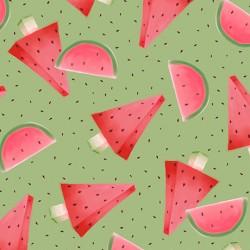 Melon Drop - Watermelon Green