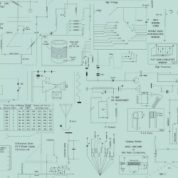Frequency -  Circuitry Aqua