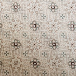 Patchwork Cotton - Tiles Taupe