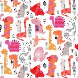 Play Time - Dinos Pink