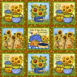 Sunny Blossom - 1/2 panel
