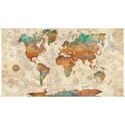 Wanderlust - Mapa (60 cm)