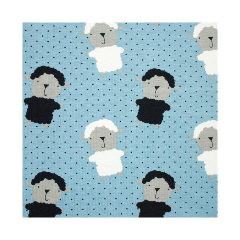 Jersey - Sheep Blue