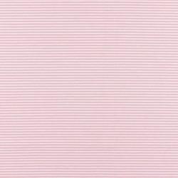 Jersey - Stripe Rose/White