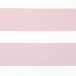 Jersey - Big Stripe Rose/Natur