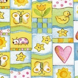 Baby Moon Patchwork