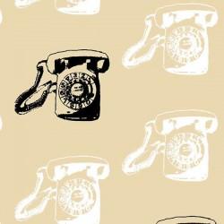 Vintage Scrapbook - Call Me